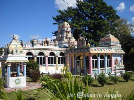 tempio indu a mauritius